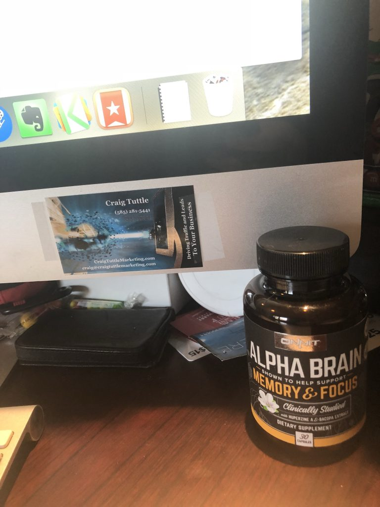 Onnit Alpha Brain Review Craig Tuttle Fitness